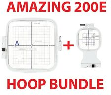 Janome Hoop Package for the MC 200E - Design Memory Craft Embroidery Elna 8100