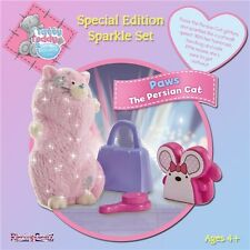 Tatty Teddy Special Edition Sparkle Set Paws the Persian Cat Glitter Figure