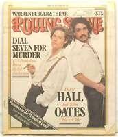 ROLLING STONE MAGAZINE ISSUE 237 DARYL HALL JOHN OATES WARREN BURGER APR 21 1977