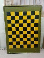 Antique/vintage Game Board Checkerboard  Folk Art primitive quebec canada