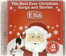 ELLA - THE BEST EVER CHRISTMAS SONGS & STORIES PERSONALISED CD