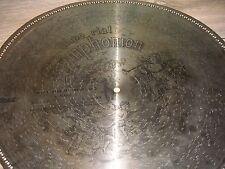 "Imperial piastra di lamiera SYMPHONION 50,7cm serviva Coin Music Box DISC 19 5/8"""