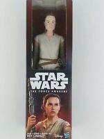"Star Wars The Force Awakens Rey (Jakku) 12"" Action Figure Factory Sealed Hasbro"