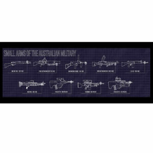 Small Arms of the Australian Military Bar Runner