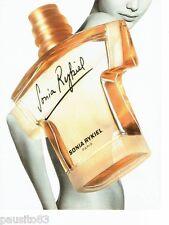 PUBLICITE ADVERTISING 106  1998   Sonia Rykiel  parfum femme