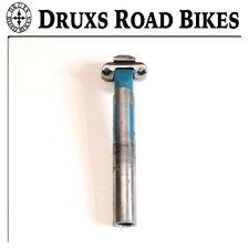 Tijas de sillín azul para bicicletas