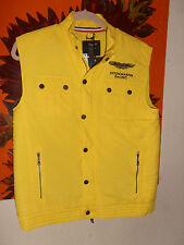 BNWT Hackett Aston Martin Gilet/Bodywarmer Yellow 15/16 years rrp £110