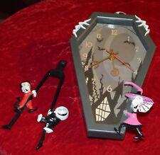 Rare Nightmare Before Christmas Touchtone Pictures Pendulum Clock Tim Burton