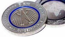 5 € - Münze Blauer Planet Erde aus 2016 - Prägestätte J Hamburg