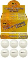 6 x Plain White (logo free) Special Quality Table Tennis Balls. 40mm. NEW SEALED