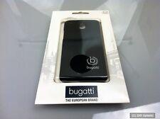 Original Bugatti 08342 Clip-On Cover Case Schwarz für HTC One Mini in Schwarz