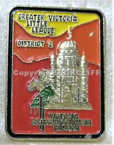 LITTLE LEAGUE BASEBALL GREATER VICTORIA B.C. DISTRICT 2 Pin