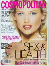 Daniela Pestova Jon Bon Jovi Tyra Banks Helena Christensen Cosmopolitan magazine