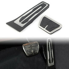 No Drill AT Pad For BMW 1 2 3 4 5 6 7 Series X3 X5 X6 Fuel Gas Brake Pedal Cover