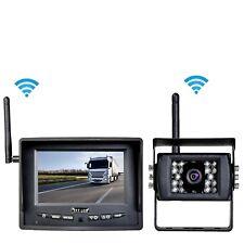 Auto LKW Wohnmobil Funk Rückfahrsystem Digital Kabellos Rückfahrkamera 12V 24 V