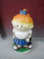Vintage Advertising piggy bank (NBS3) - SECURITY SAVINGS AND LOAN