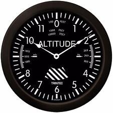 """Trintec Massive 14"""" Aviation Classic Altimeter Wall Clock 9060-14 Aviatrix"""