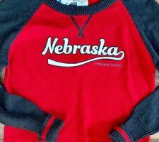 Nebraska CORNHUSKERS Sweater - NWT - Womens Medium 100% Cotton NCAA