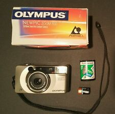 Olympus Newpic Zoom 600 Camera with battery and 1 roll of film