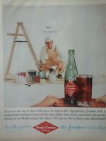 1959 Royal Crown RC Cola Soda Handsome Painter Ladder Paint Cans Original Ad