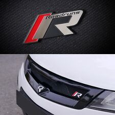 Roadruns R-Tune Aluminum Fold fixed Dress Up Emblem For KIA Hyundai All Vehicle