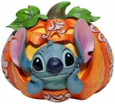 Jim Shore New 2020 Disney Traditions Halloween Stitch In Jack O Lantern 6007080