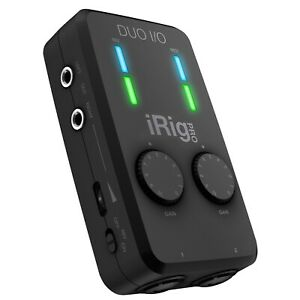 iRig Pro DUO I/O 2-channel audio interface with MIDI for iPhone/iPad and Mac/PC