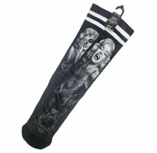 DGA Day of the Dead Marilyn Monroe Rockabilly Art Ladies Tube Socks Smile Now