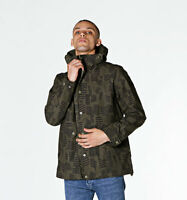 Farah Butcher Vintage Dark Green Water Resistant Parka Jacket with Hood