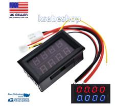 Mini Digital Voltmeter 4 Bits Ammeter Dc 200v 10a Car Led Disp Panel Volt Tester