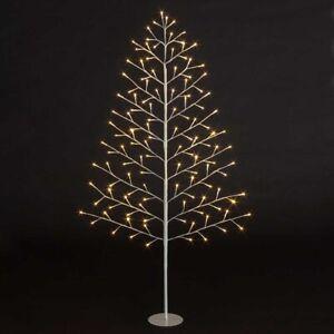 Christmas Xmas Lit 2D Tree Warm White LEDs