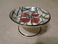 Schramberg Keramik SMF Miniatur Fußschale / Tafelaufsatz - Puppenstube - Vintage