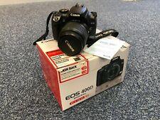 Canon EOS 400D 10.1 MP Digital SLR Camera - Black (Kit with EF-S 18-55mm Lens)