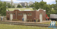Walthers 933-3804 Santa Fe-Style Brick Freight House - N Scale - New Old Stock