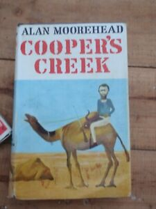 Cooper's Creek, Alan Moorehead, Hardcover, 1963, 1st Edition, Sidney Nolan Cover