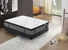 Double Queen King Mattress Bed Supreme Cool Gel Infused Memory Foam 7 Zone 36cm