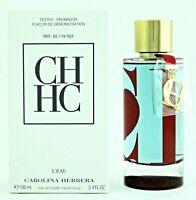Tester Women CH L'eau by Carolina Herrera EDT 3.3 / 3.4 oz New Leau