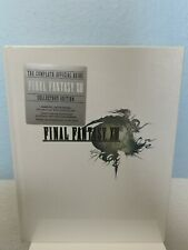Final Fantasy XIII Collector's Edition Strategy Guide **New Sealed**
