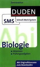 Abi Biologie: Zentralabitur. Abiwissen. Prüfungsaufgaben...   Buch   Zustand gut