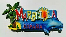 Marbella Espana Spain 3D Resin Tourist Souvenir Collectable Gift Fridge Magnet