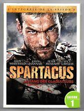 COFFRET 5 DVD / SPARTACUS LE SANG DES GLADIATEURS / INTEGRALE SAISON 1
