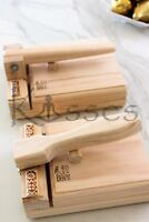 New Mexican Manual Tortilla Press Maker Pine Wood Corn Flour Gorditas Bunuelos