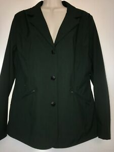 NWT Horseware Forest Green competition Hunter Jumper show jacket XL