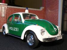 Vw Escarabajo Policía Polizei Auto Welly 1:24 Escala Diecast modelo detallado 22436