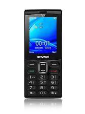 TELEFONINO CELLULARE BRONDI TEX  NERO DUAL SIM NUOVO GARANZIA ITALIANA