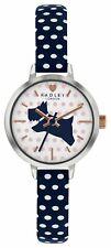 Radley Ladies RY2733S Rose Gold Plated Polka Dot Strap Watch