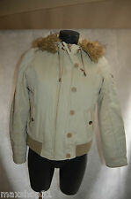 BLOUSON CAPUCHE ABERCROMBIE AND FITCH FAUSSE FOURRURE TAILLE M/38 JACKET/GIACCA