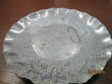 Admiration Products Very Shiny and Decorative Silver Platter