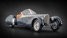 "Bugatti T57 SC Corsica Roadster ""Dark Blue"" 1938 (CMC 1:18 / M-106)"