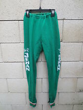 VINTAGE Cuissard long Meubles JEHAN années 70 vert cycling pant oldschool S / M
